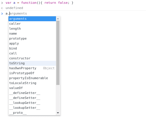 Our function has a lot of methods!