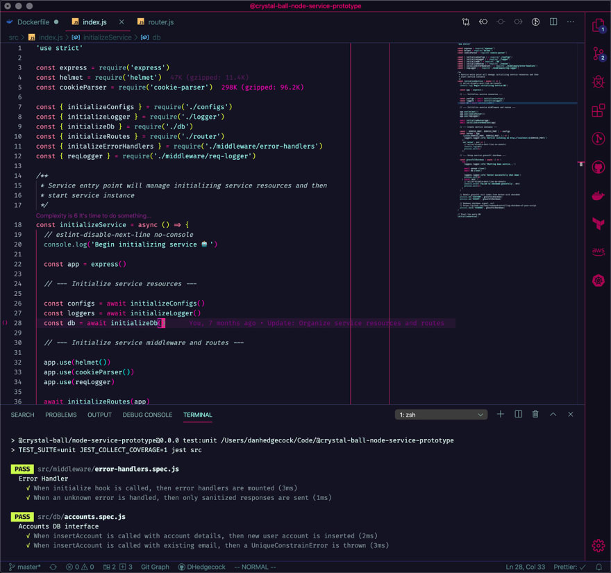 Radical VS Code theme