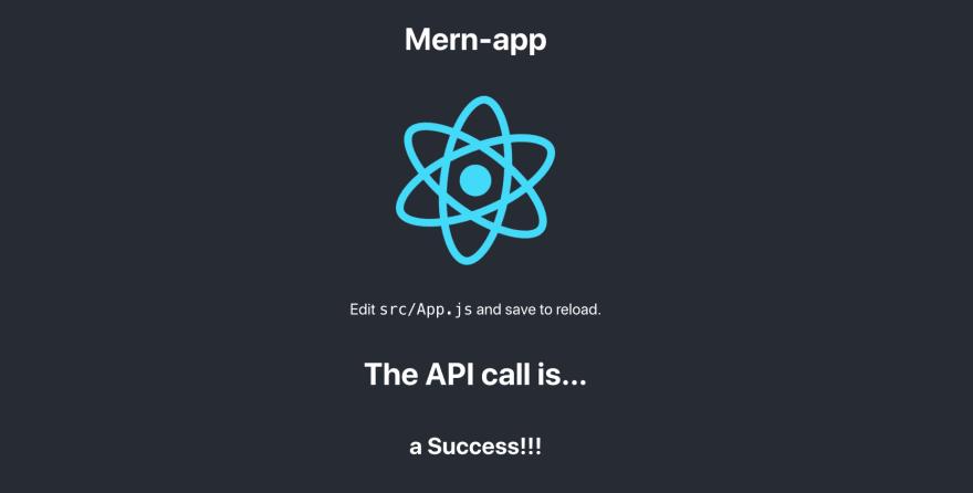 mern-app_react_success