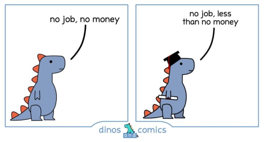 college job comic