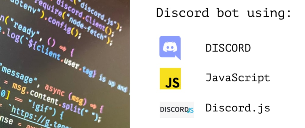 Cover image for Make a Discord bot in just 30 lines of code.