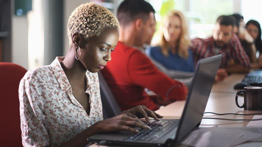 Black female developer