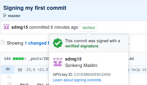 signed-commit