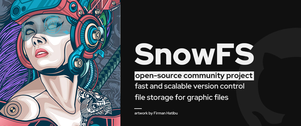 Cover image for SnowFS ❄️ Let's bring version control to graphic projects
