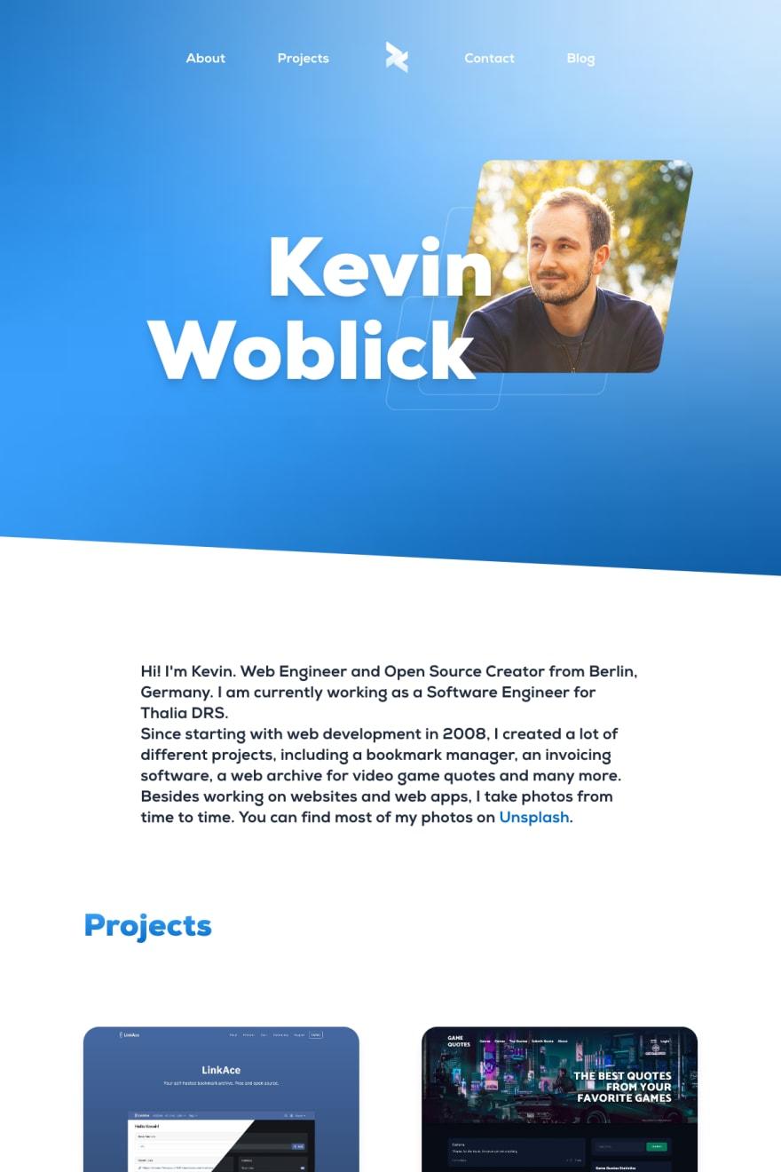 Screenshot of kovah.de