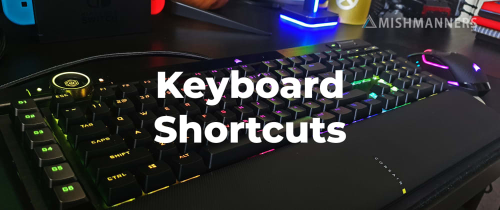 Cover image for Keyboard shortcuts for GitHub • your key to increased productivity