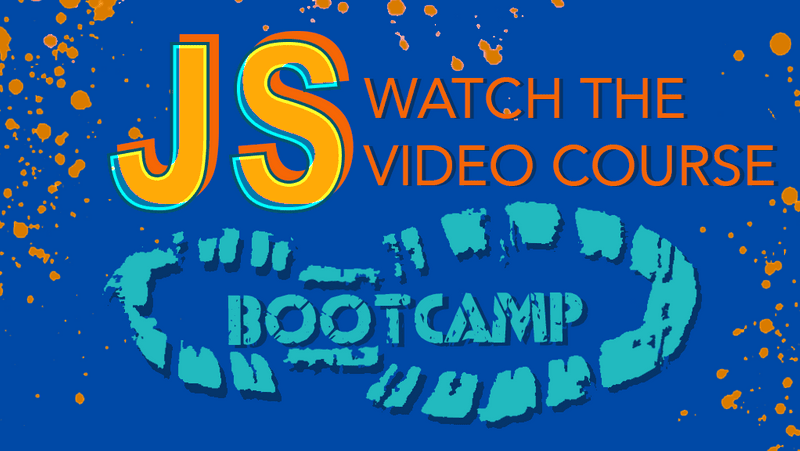 Join the 2020 JS Bootcamp Course