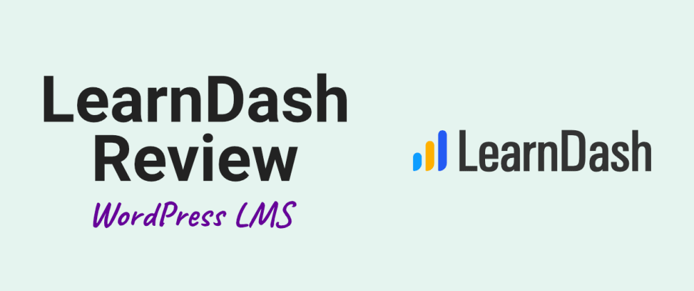 Cover image for LearnDash WordPress-LMS Review
