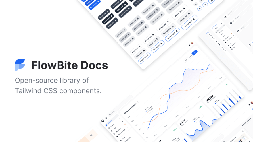 FlowBite - Tailwind CSS Components Library