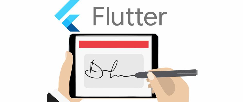 Cover image for Como fazer campo de assinatura ou desenho em Flutter.