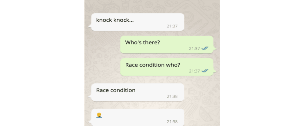 Cover image for React race condition bug
