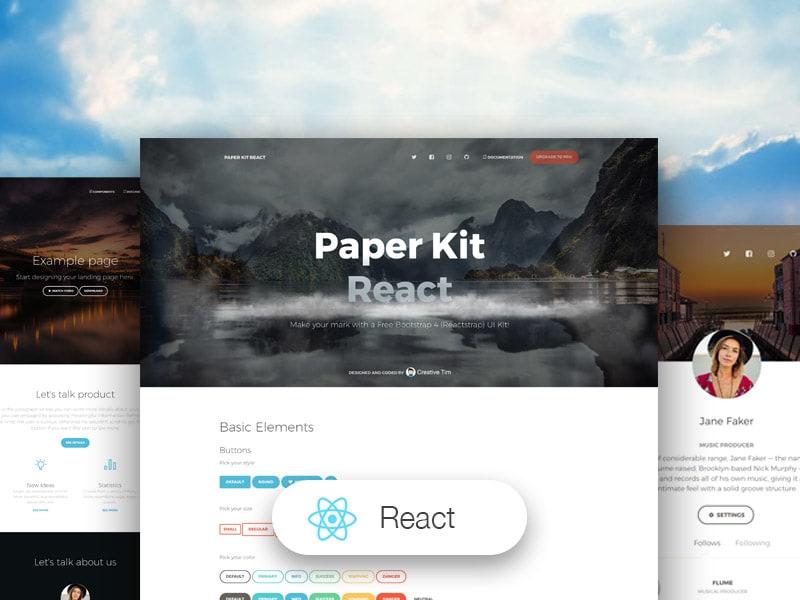 Paper Kit React