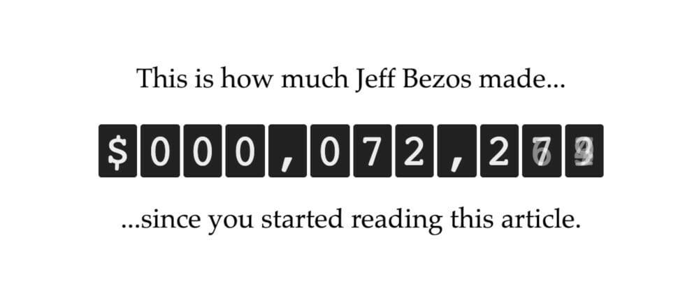 Cover image for Bezos' Calculator