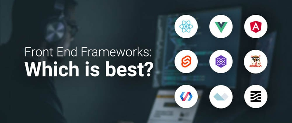 Cover image for 6 Best Front-end JavaScript Frameworks: Multi-Year Developer Surveys Visualized [2021 Update]