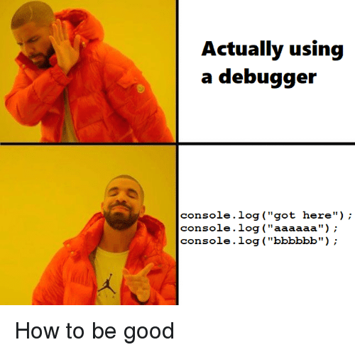 debugger my friend