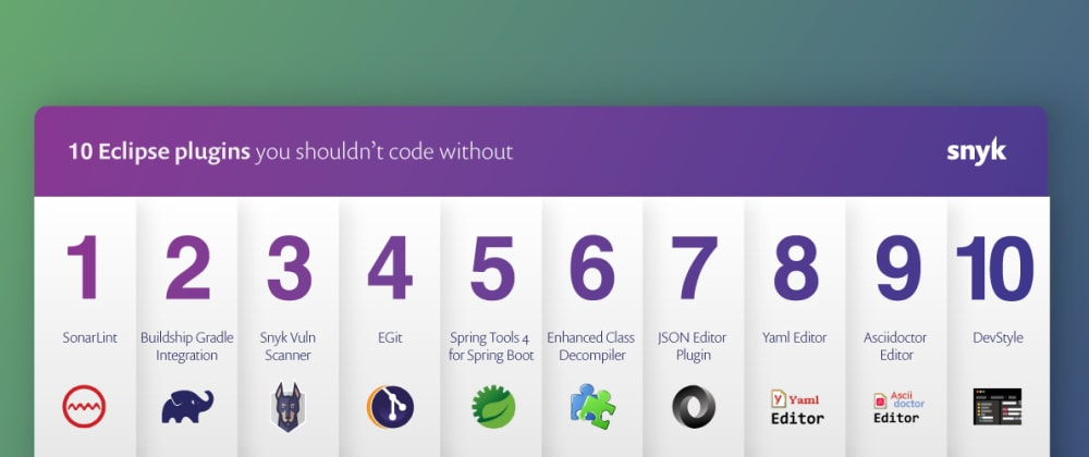 Cover image for 10 Eclipse plugins you shouldn't code without