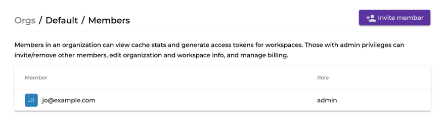 Invite members to Nx Cloud workspace