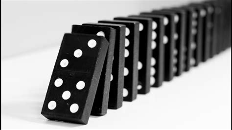 Domino Toppling is an Art Form - YouTube