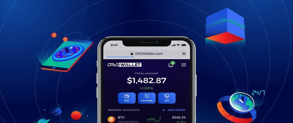 Cover image for DAOWallet Alpha and Token Swap Start