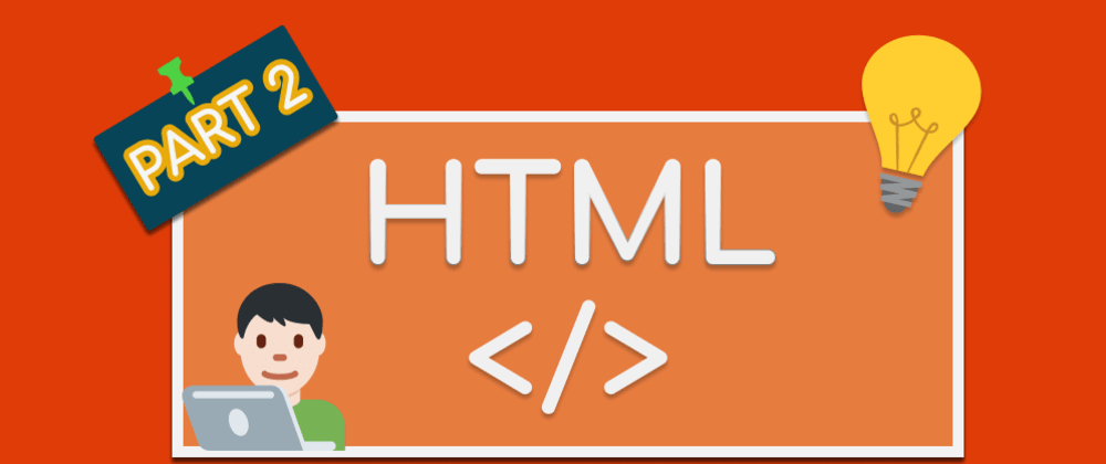 Cover image for Important HTML tags (part 2) 💻🖥🖱