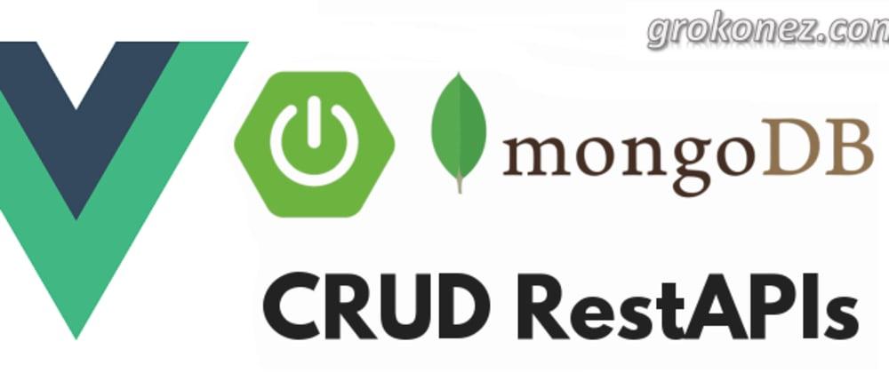 Cover image for Spring Boot + Vue.js example | Spring Data MongoDB + RestApi CRUD