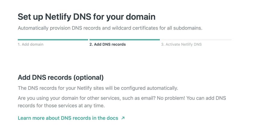 Netlify DNS