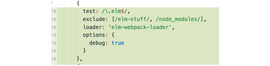 elm webpack config