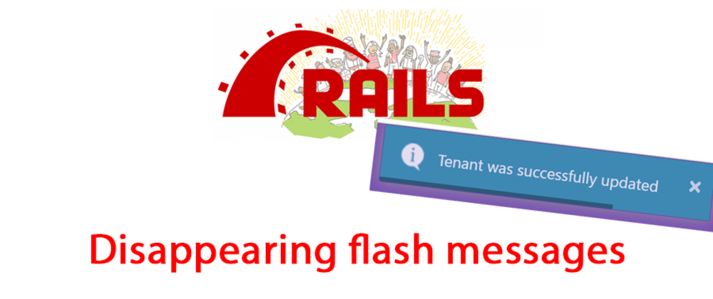 Cover image for Ruby on Rails 6: Disappearing flash messages with toastr