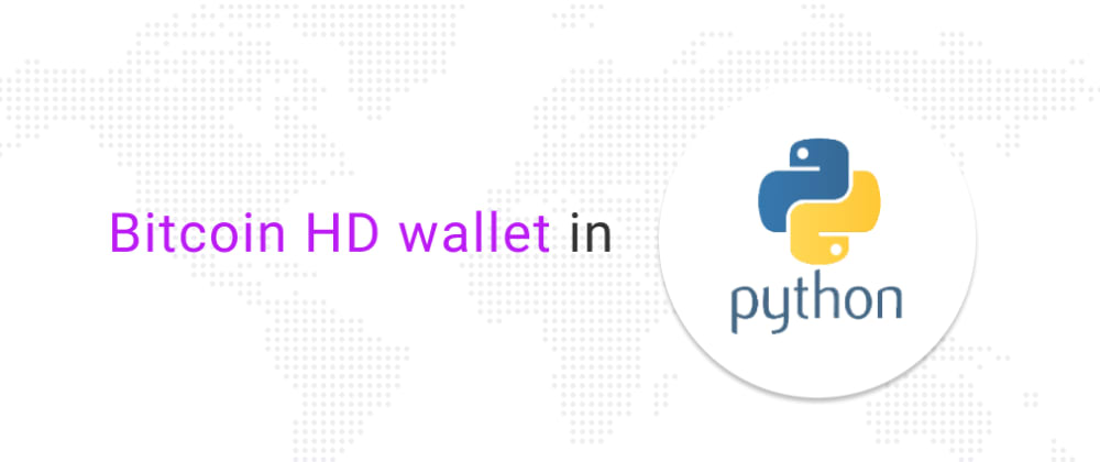 Cover image for Bitcoin Wallet in Python
