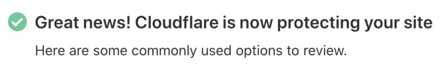 I set up CloudFlare