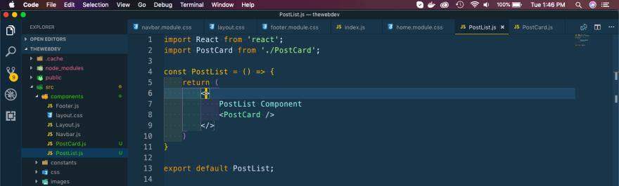 PostList.js