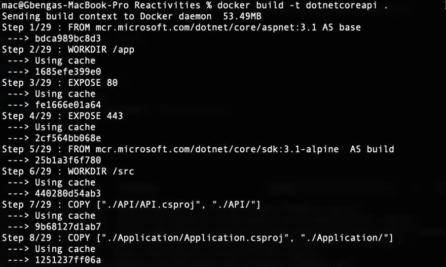 Docker Build process