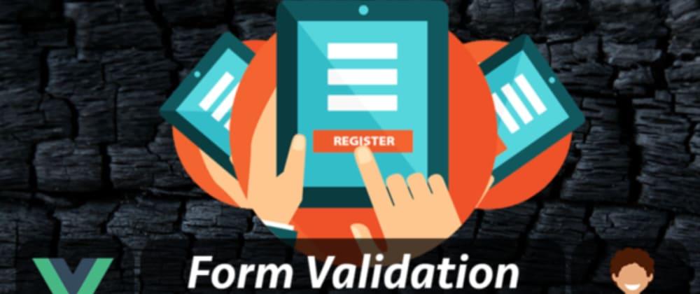 Cover image for Vue JS 3 Composition API → Registration Form Validation [2021]