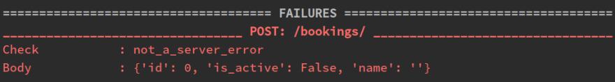 Still an error