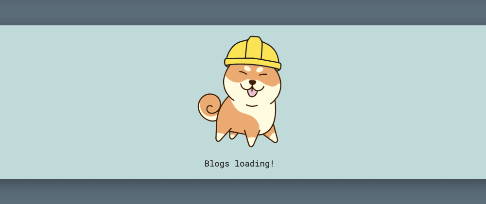 Cover image for Adding Shiba Inu Loading and Error SVGs to My React Site