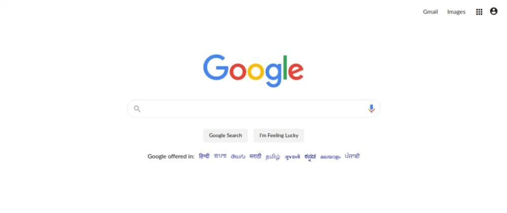 Cover image for Google Search Page In Angular Material