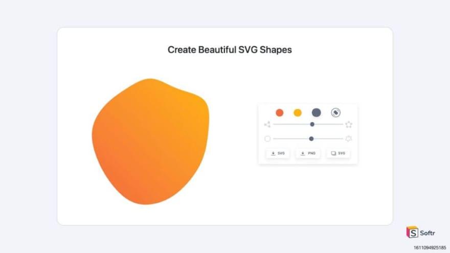 SVG Shape Generator