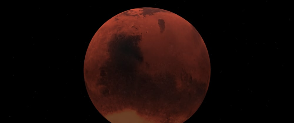 Cover image for react-three-fiber: Planet Mars