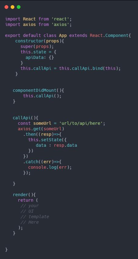 componentDidMount