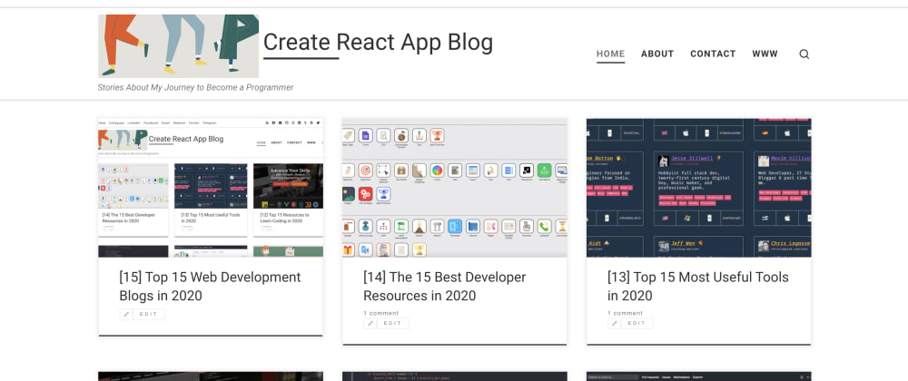 Cover image for [15] The 15 Best Web Development Blogs in 2020