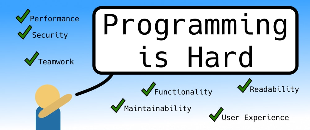 Cover image for Programming is Hard