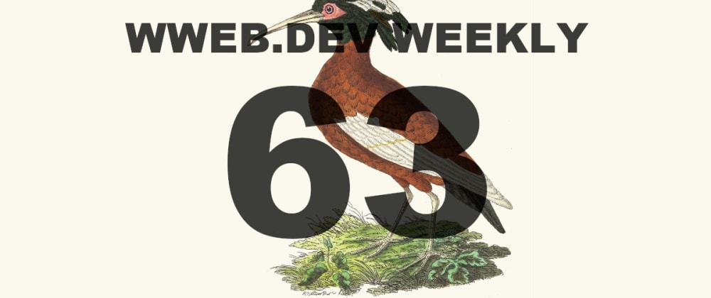 Cover image for Weekly web development resources #63