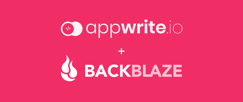 Cover image for Backing up Appwrite to Backblaze