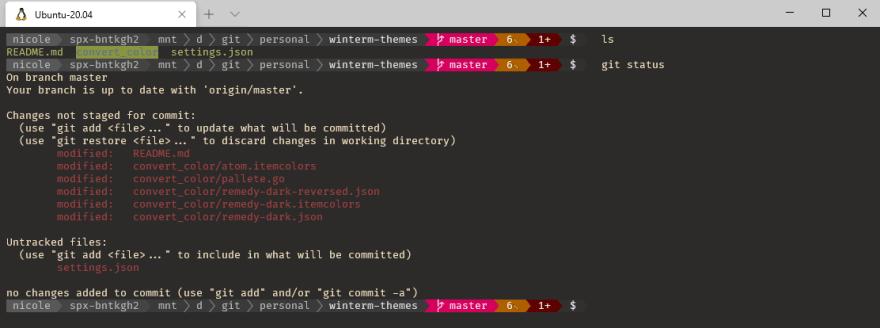 My Windows Terminal Ubuntu