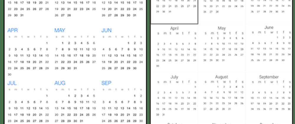 Cover image for NativeScript UI Calendar