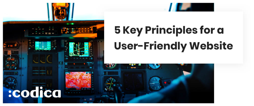 Cover image for 5 Key Principles for a User-Friendly Website