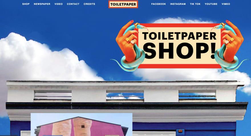 Toiletpaper shop