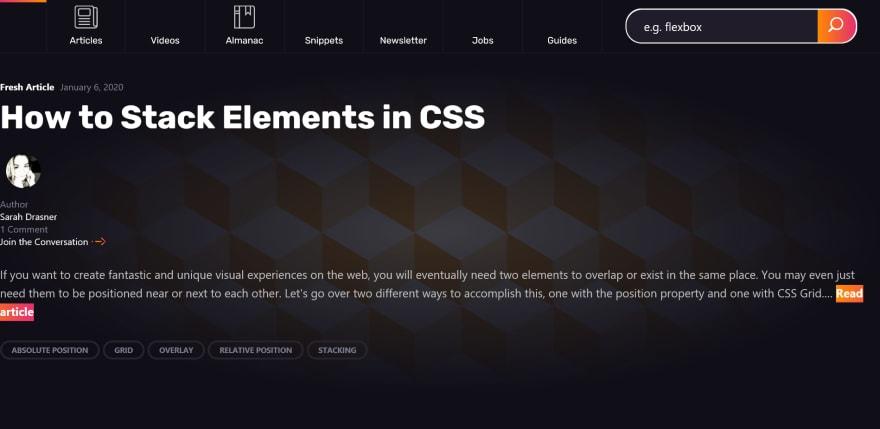 CSS-Tricks on IE 11