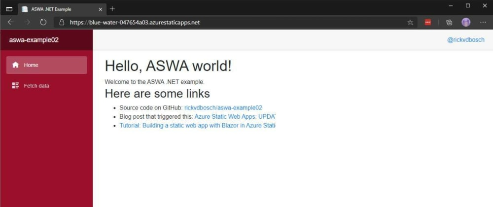 Cover image for Azure Static Web Apps: UPDATE