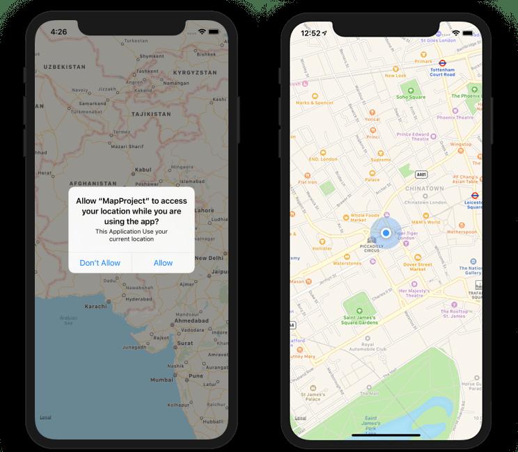 User Current Location